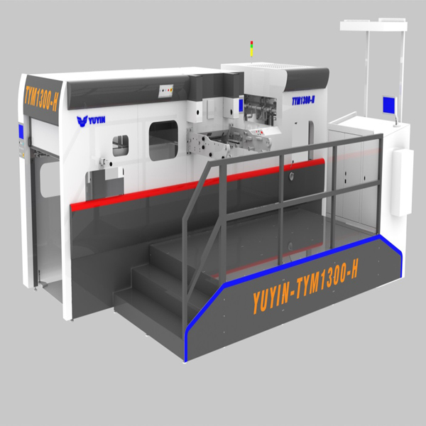 UP GROUP-YUYIN has developed and manufactured the first set of TYM1300H automatic foil-stamping and die-cutting machine